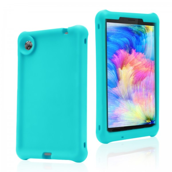 For Lenovo Tab M7 TB-7305 Rugged Case Turquoise