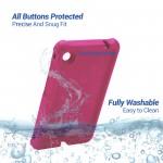 For Lenovo Tab M7 Tablet Case TB-7305 Cover Raspberry