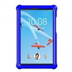 MingShore For Lenovo Tab M8 HD FHD 8'' Tablet Silicone Bouncing Case BLUE