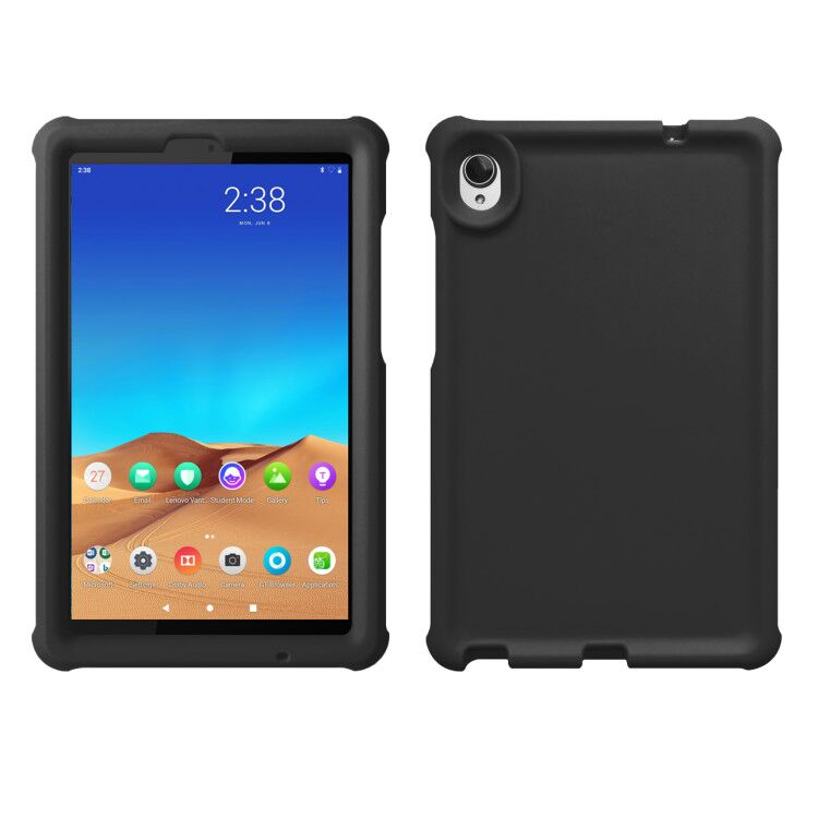 MingShore For Lenovo Tab M8 TB-8505X Tablet FHD Silicone Bouncing Case BLACK