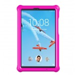 MingShore For Lenovo Tab M8 HD Tablet FHD Silicone Bouncing Case Raspberry