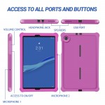 For Lenovo M10 FHD Plus Tab 10.3 Inch Tablet Case Raspberry