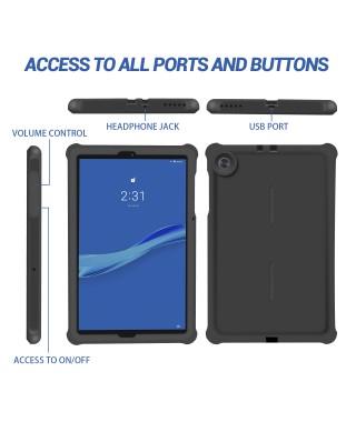 For Lenovo Tab M10 FHD Plus 10.3 Tablet Case Black