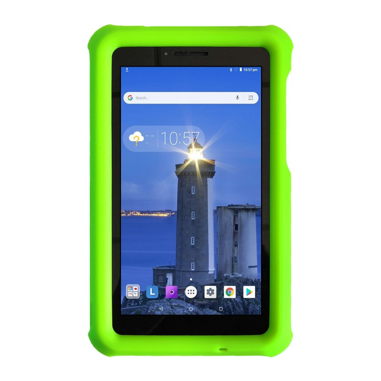 MingShore For Lenovo Tab E7 TB-7104F Silicone Rugged Case GREEN