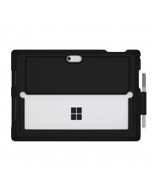 MingShore Microsoft Surface Pro 4 Silicone Rugged Case With Built-in Pen Holer Also Fits to Surface Pro 3 and New Surface Pro (2017) Cover