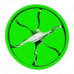 MingShore Portable Digital Cable Holder Dark Green