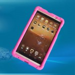 "MingShore Huawei MediaPad M2 8"" Silicone Bumper Case with handstrap M2 M2-801W 803L Rugged Cover"