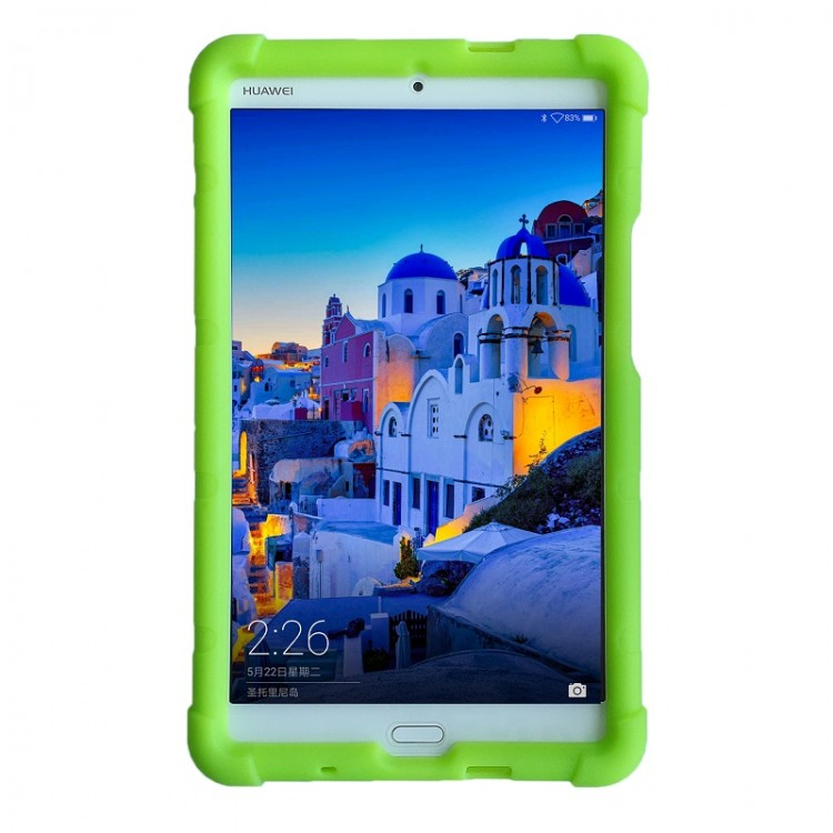 MingShore Case For Huawei MediaPad M3 8.4 Tablet Cover Green