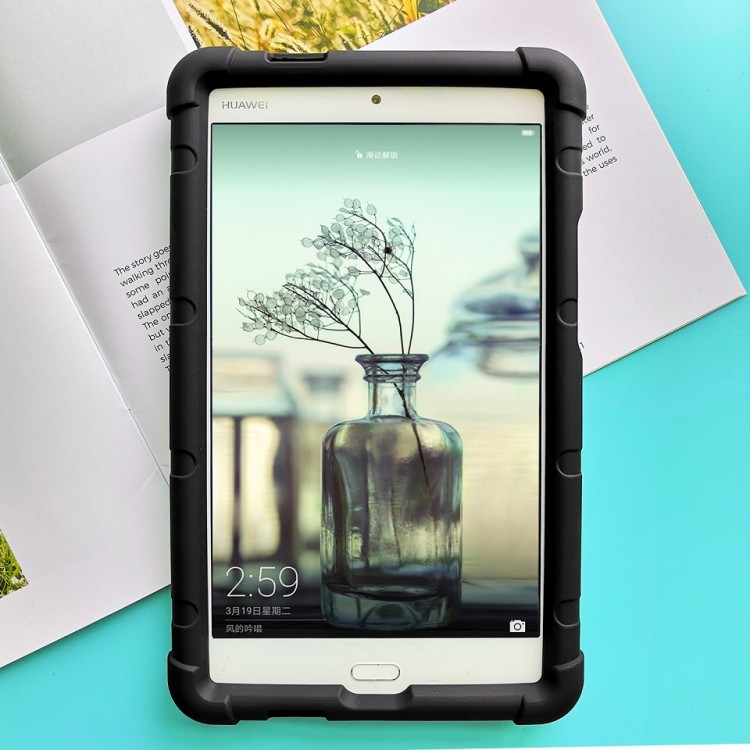MingShore M3 Lite 8 Cover CPN-W09-L09 For Huawei MediaPad 8.0 Tablet Case Black
