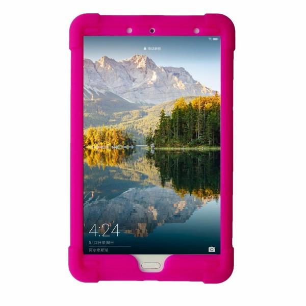 MingShore Case For Huawei M5 8.4 SHT-W09 SHT-AL09 Tablet Cover RASPBERRY