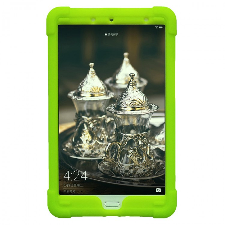 MingShore Cover For Huawei MediaPad M5 8.4 Inch Tablet Case GREEN