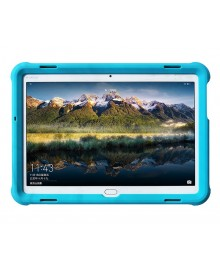 MingShore Silicone Case For Huawei MediaPad M3 Lite 10 Tablet Cover Black