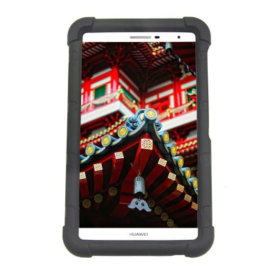 MingShore for Huawei MediaPad T2 7.0 Pro Case PLE-701L PLE-703L Silicone Rugged 7 Inch Tablet Protective Cover